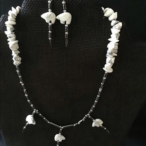 Native Style necklace/earrings